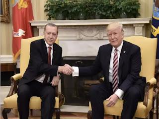 Trump says Erdogan assures 'will eradicate' any IS left in Syria