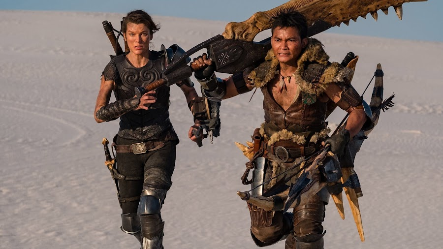 monster hunter movie official first look milla jovovich tony jaa