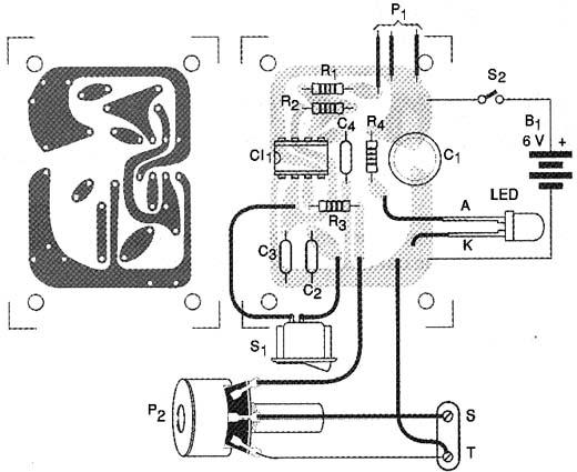 Eletrônica Campo Elétrico*: Injetor de Sinais com 555