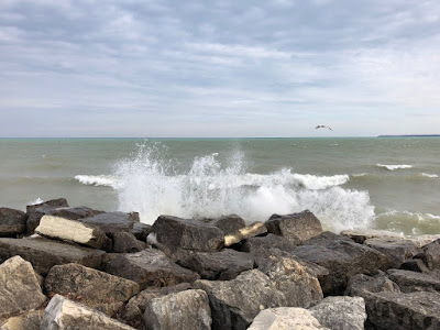 On Milwaukee's Lake Michigan shoreline