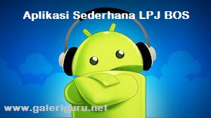 Download Contoh Aplikasi Sederhana LPJ BOS Terbaru