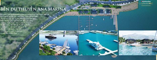 vị trí dự án La Luna Resort