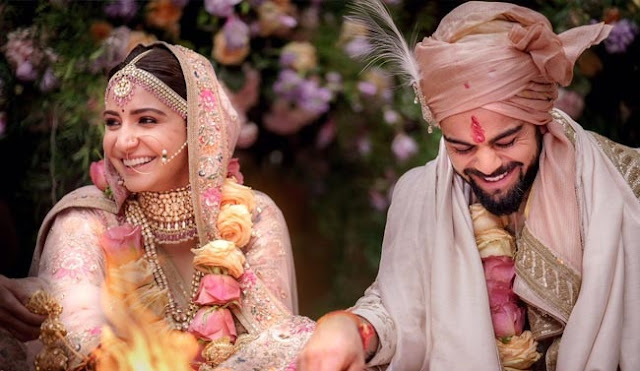 Anushka Sharma And Virat Kohli Are Married