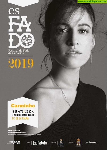 La Palma acogerá el concierto de la reconocida cantante portuguesa Carminho en el marco del Festival de Fado de Canarias