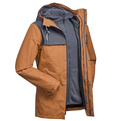 Decathlon Forclaz Travel 100 3-in-1 Jacket