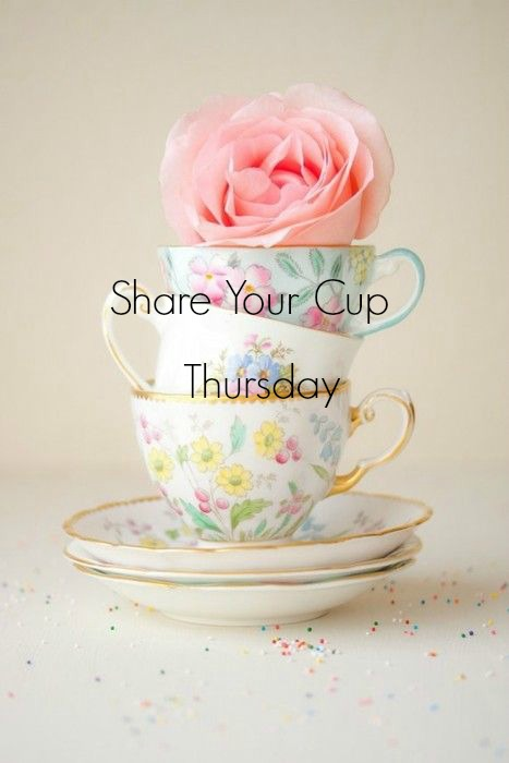 Join Us for Share Your Cup Thursday