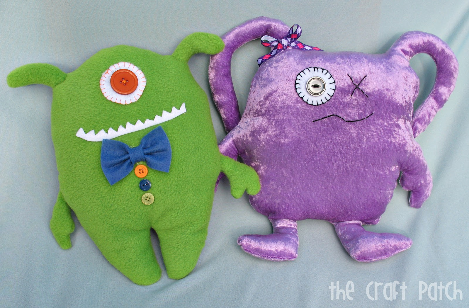 Diy Ugly Dolls Tutorial Thecraftpatchblog Com