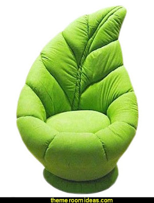 Leaf Swivel Chair  Alice in Wonderland bedroom decor - Alice in wonderland themed rooms - design  an Alice in Wonderland Bedroom  - Alice in Wonderland bedroom ideas - Alice in Wonderland bedding - Alice in Wonderlnd wall decals - Alice in Wonderland wall murals - alice in wonderland wallpaper mural -  tea party theme - alice in wonderland bedroom furniture