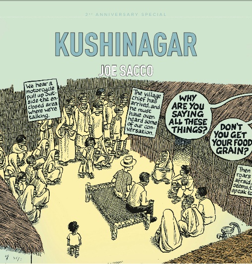 Kushinagar by Joe Sacco