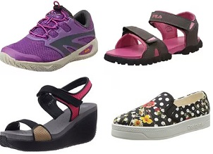 Women's Shoes, Sandals, Slippers – Flat 50% to 75% Off @ Amazon