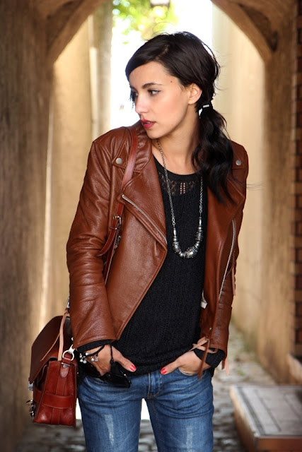 outfit giacca pelle marrone giacca pelle cognac come abbinare giacca di pelle marrone abbinamenti giacca pelle marrone idee outfit giacca pelle marrone tendenze primavera estate 2016 street style brown leather jacket how to wear brown leather jacket camel leather jacket how to wear camel leather jacket cognac leather jacket how to wear cognac leather jacket ss 2016 mariafelicia magno fashion blogger color block by felym fashion blog italiani fashion blogger italiane blogger italiane di moda