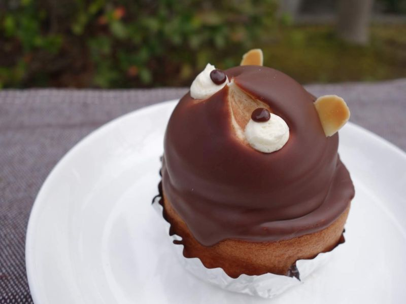 ケーキ たぬき