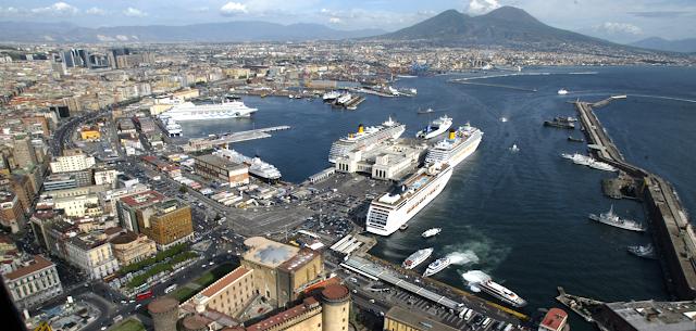 Continuano a crescere i traffici marittimi nei porti della Campania