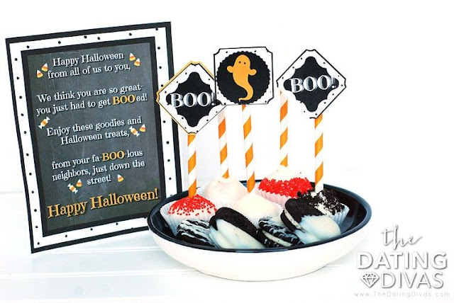 A round up of 13 Free Halloween Printables from The Dating Divas that you can use in your marriage. Date nights, parties, love notes, games, and fun prints. All FREE!!