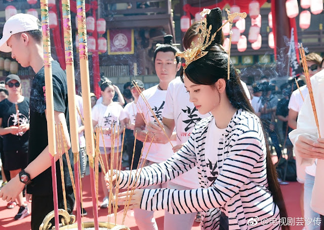 Legend of Yun Xi filming Ju Jing Yi SNH48