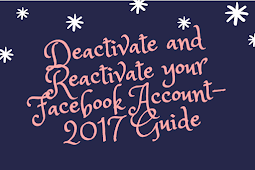 Deactivate and Reactivate your Facebook Account - 2018 Guide
