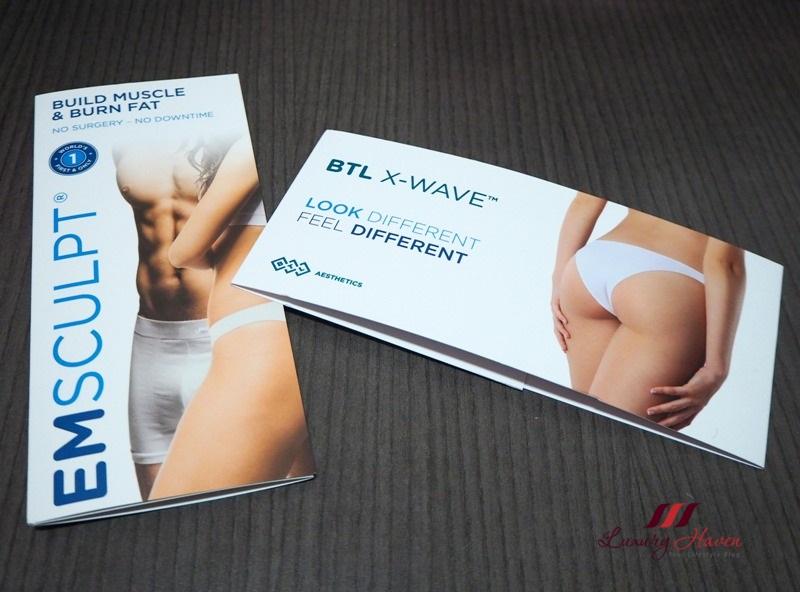 eha clinic btl x wave cellulite reduction treatment