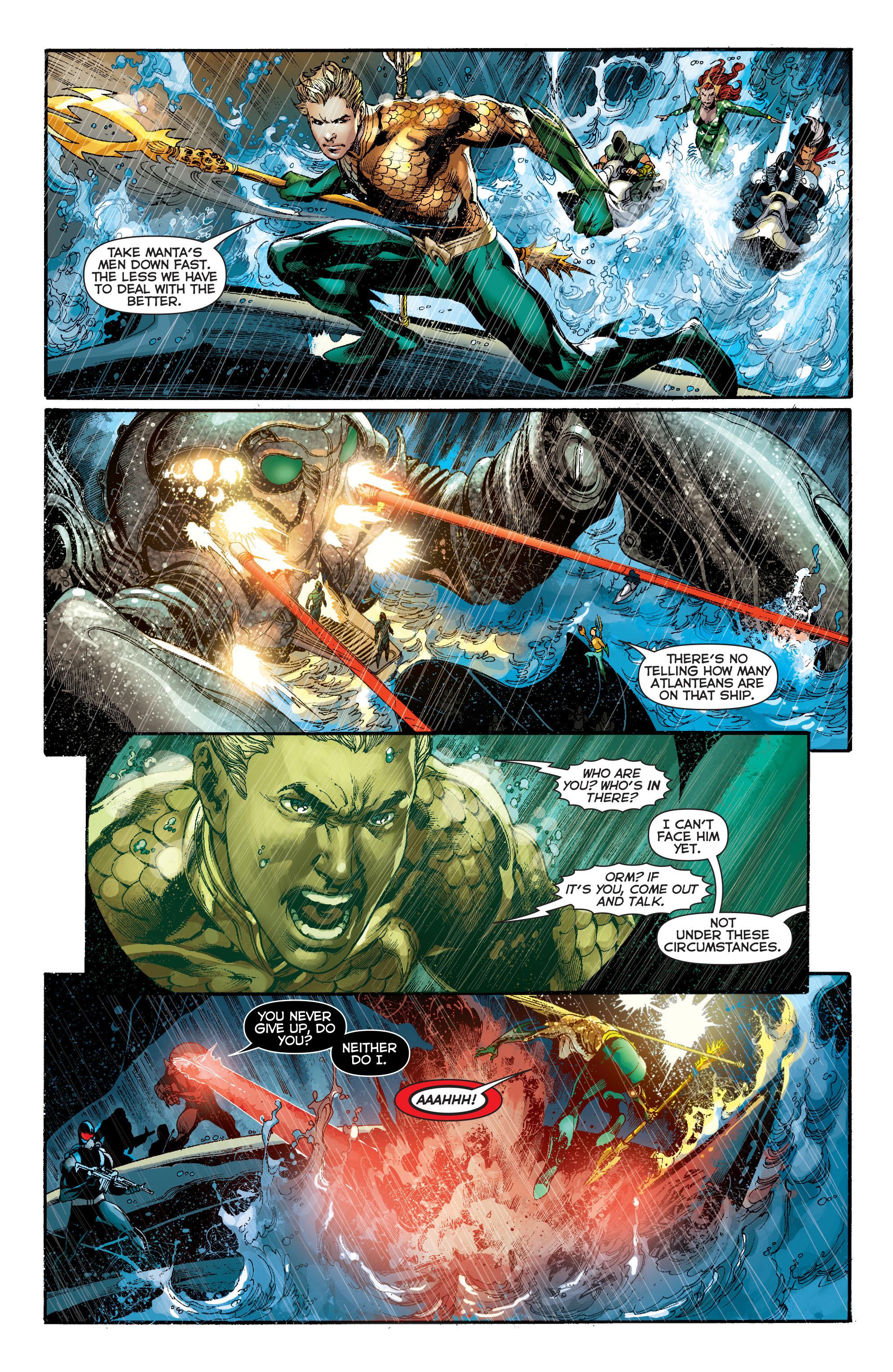 Read online Aquaman (2011) comic -  Issue #13 - 12