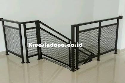 Pemasanga Railing Balkon Expandate Metal Minimalis Menerima Pesanan