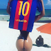 Miss Bumbum Brazil  Release Hot New Photo To Beg Lionel Messi To Unblock Her(Photos)
