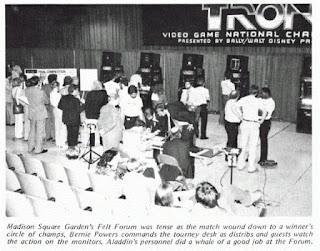 Torneo videojuego Tron 1982