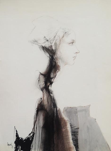 Glauco Capozzoli dibujo figura estudio