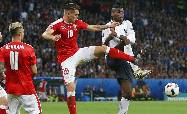Francia igualó con Suiza en la Euro 2016 y ambos avanzan a los Octavos de Final