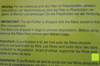 Hinweis: Beurer LR 300 Luftreiniger mit HEPA Filter für 99,5% Filterleistung, ideal bei Heuschnupfen und zur Allergievorbeugung