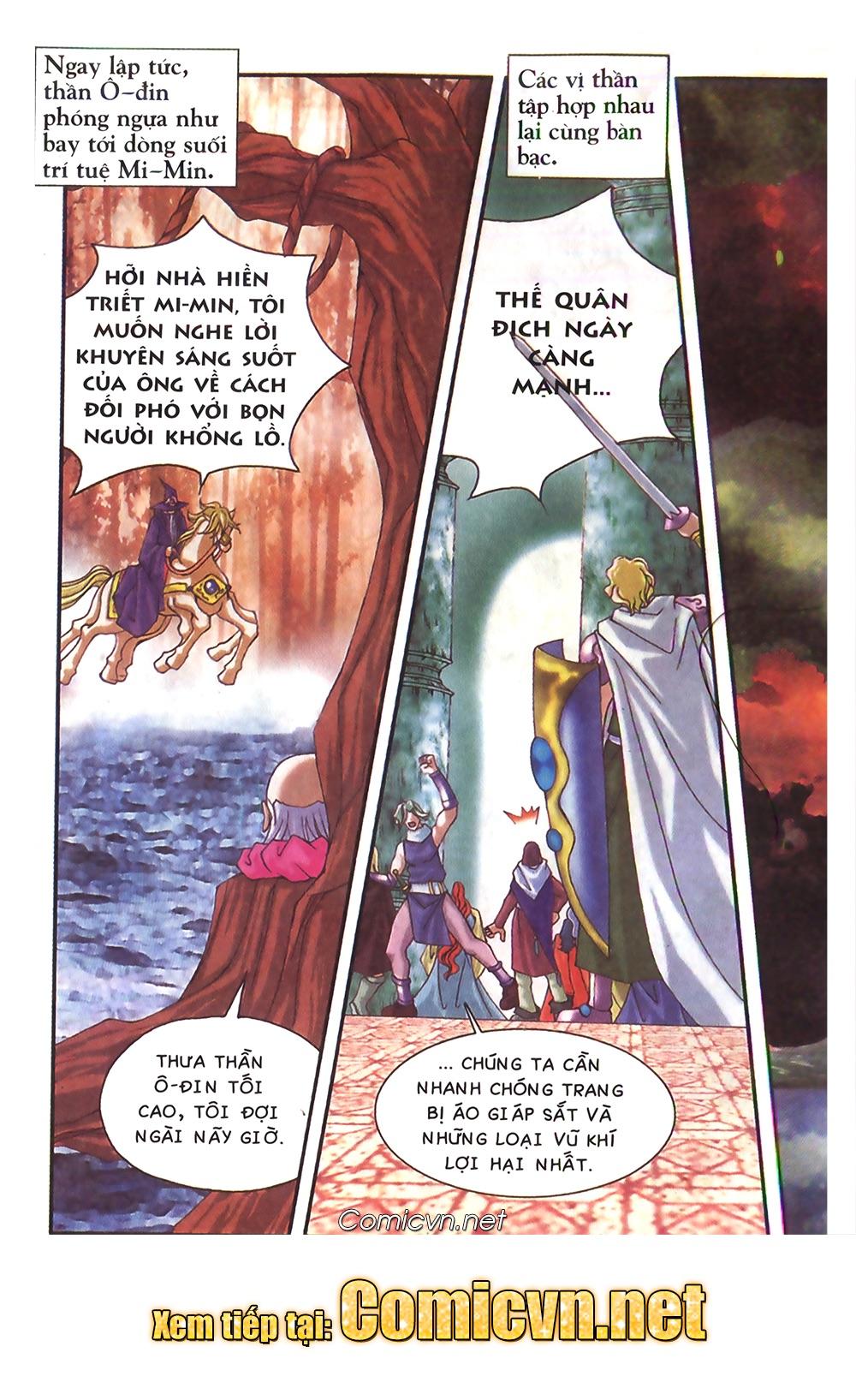 Thần thoại Bắc Âu - Chapter 48: Cuộc chiến Ragnarok - Pic 41