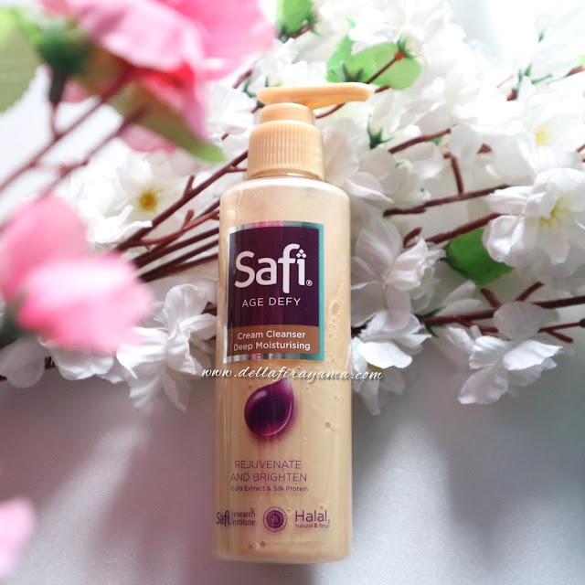 Review Safi Age Defy Cream Cleanser