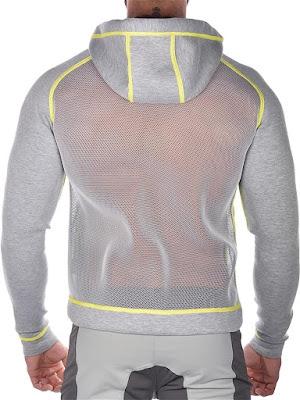 2Eros Pro Aktiv Jacket Titanium Back Detail Cool4guys Online Store