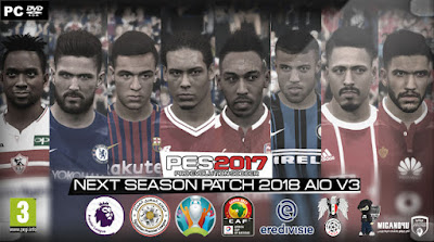 PATCH 2018 NEXT SEASON V3 PES 2017