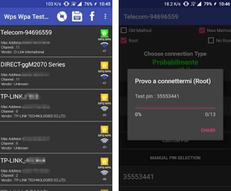 programma per rubare password wifi per android