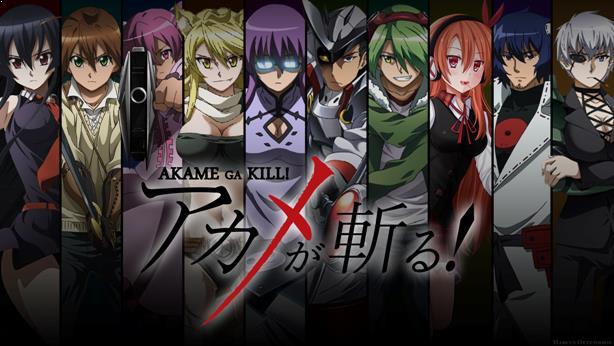 Akame ga Kil - Anime Action Fantasy Terbaik dan Terseru