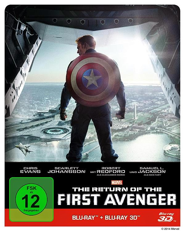 The Return of the First Avenger 3D Blu-ray Steelbook