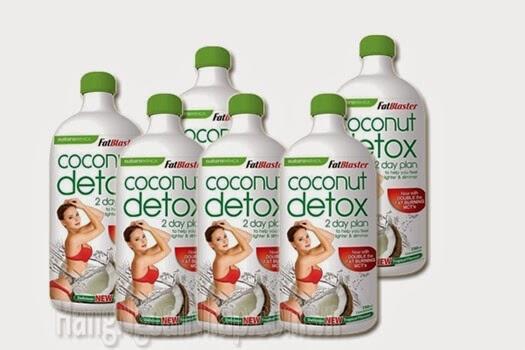 Giảm Cân An Toàn Và Hiệu Quả Với Coconut Detox của Úc