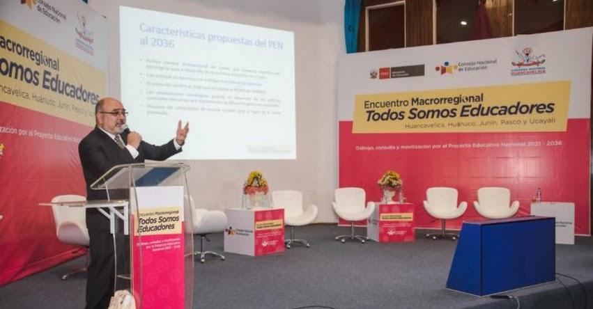 CNE: Encuentro Macrorregional «Todos somos Educadores» se realizará en Lima este 10 y 11 de setiembre - www.cne.gob.pe