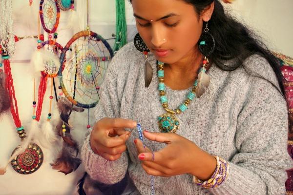 beaded nepal bracelets