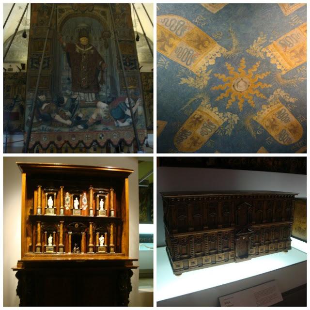 Museus no Castelo Sforzesco em Milão