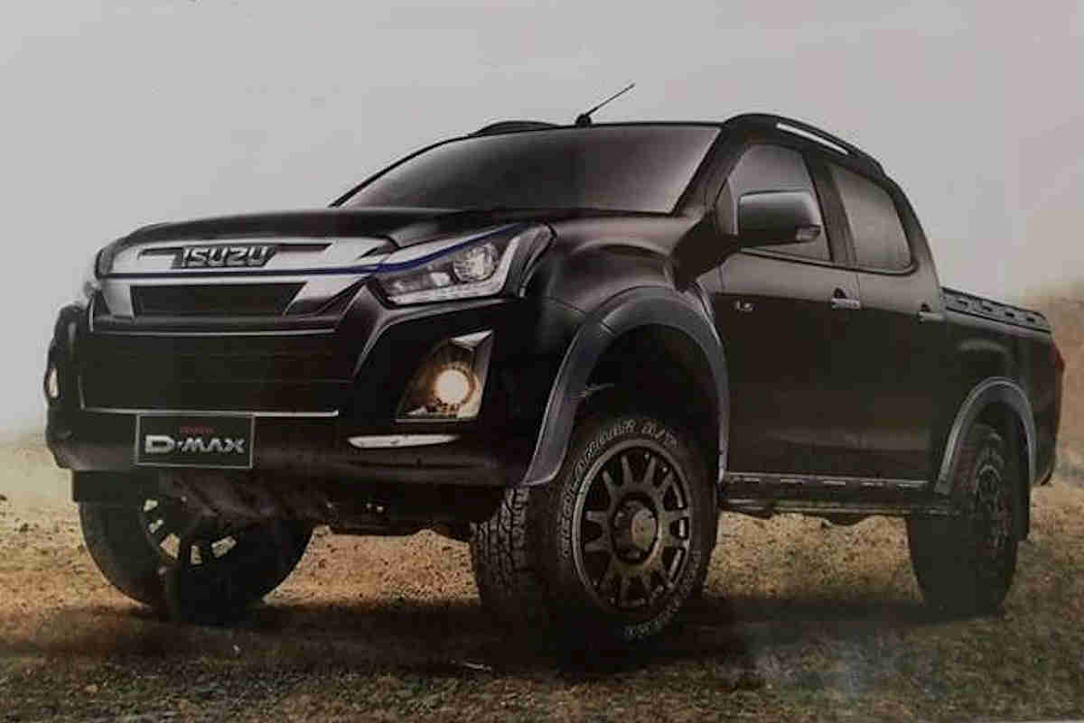 remember that special looking d max that isuzu philippines showed off at the philippine international motor show last year well it s finally heading into  [ 1200 x 801 Pixel ]