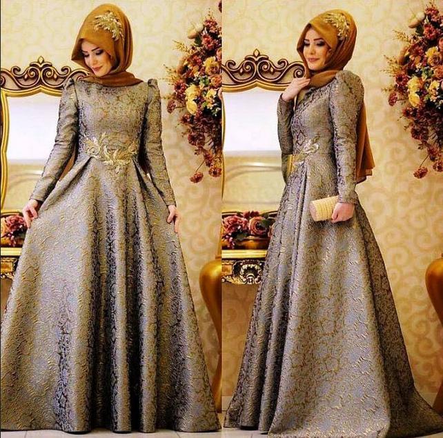 100 Model Gaun Pesta Muslim Terbaru Tahun Ini Kabar Dunia