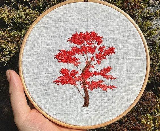 haftowane drzewa