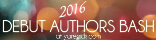 2016 Debut Authors Bash banner