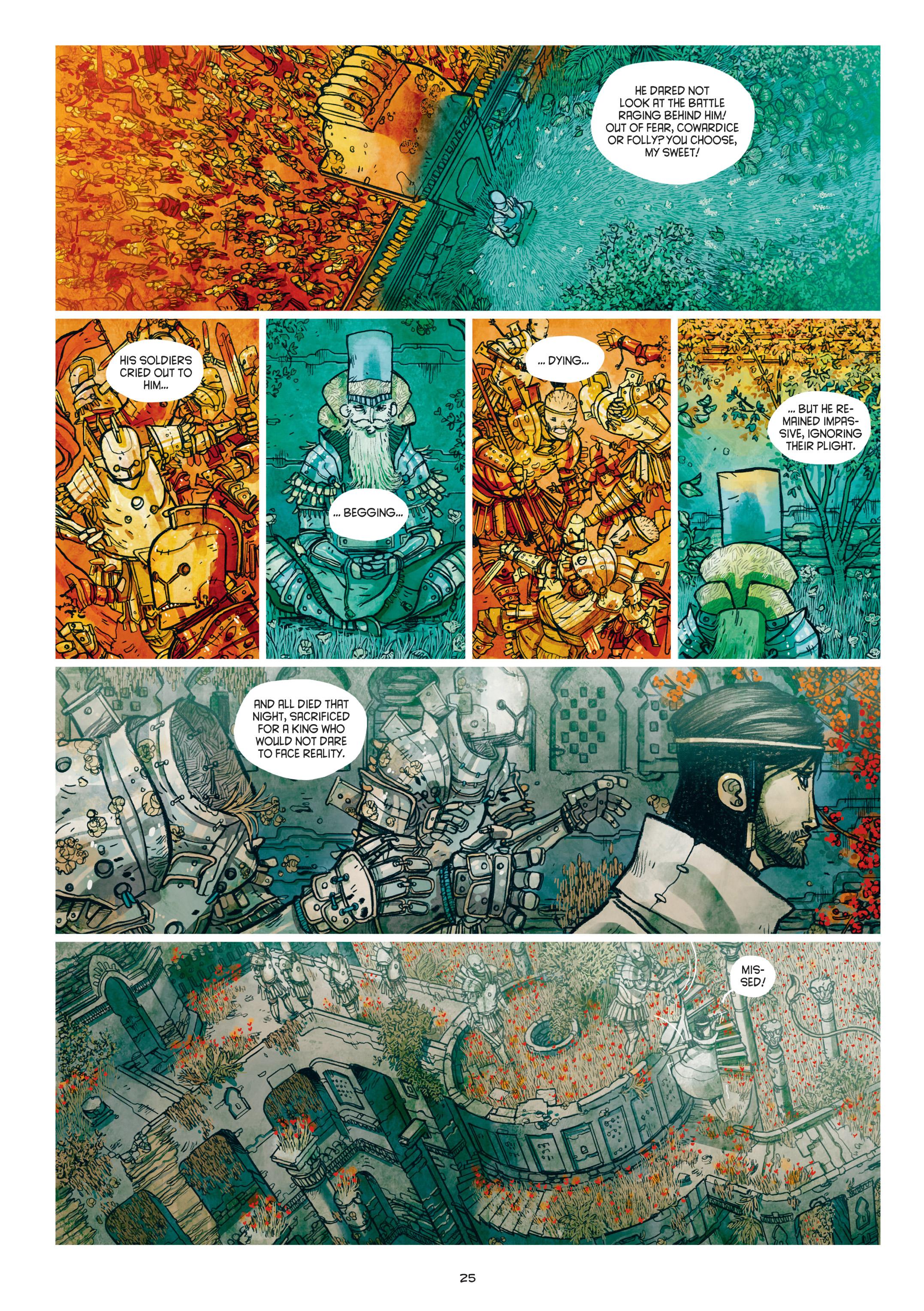Read online Adrastée comic -  Issue #1 - 26