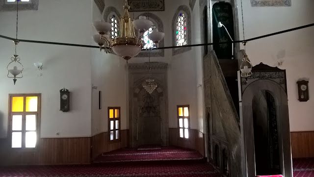 Yakupağa Camii içi.