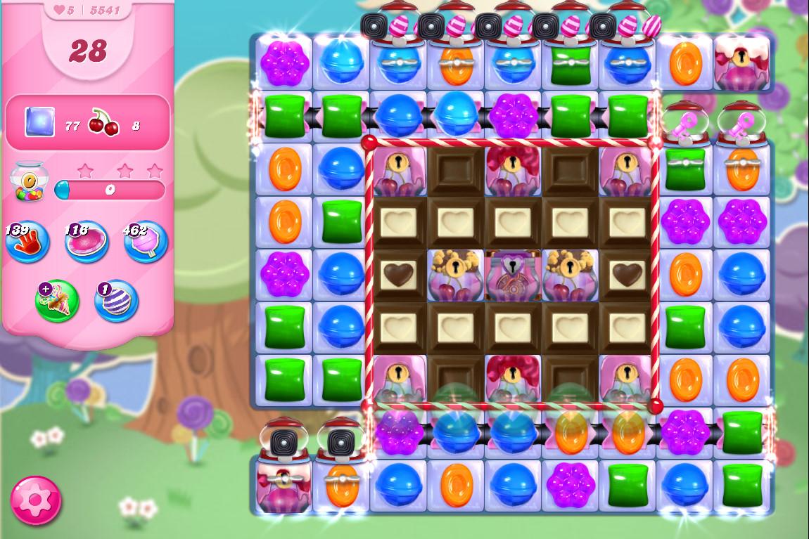 Candy Crush Saga level 5541
