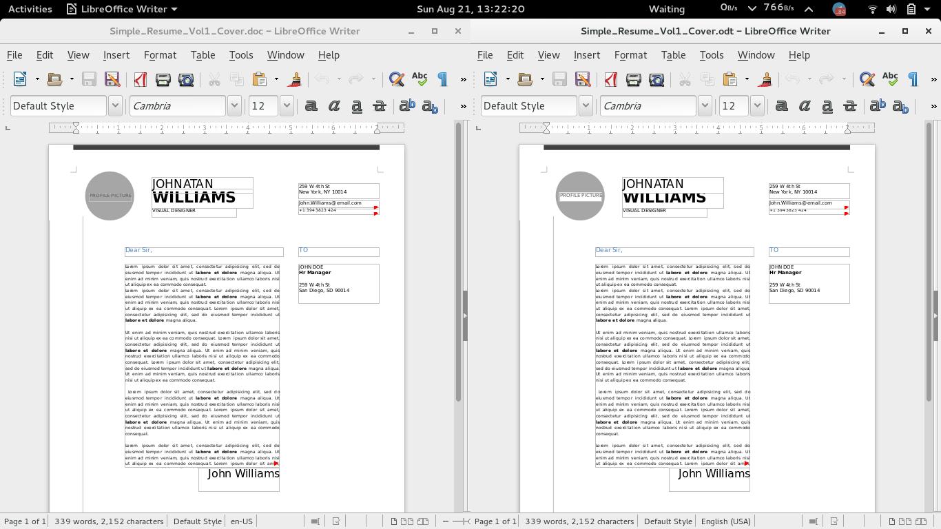 free resume templates libreoffice graphic resume templates word screenshot2bfrom2b2016 08 21
