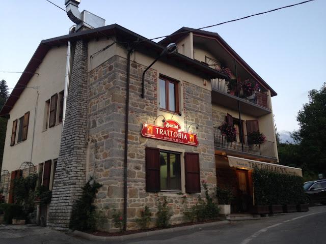 Trattoria Bonini near Castlenuovo
