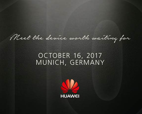 Huawei Mate 10 Launch Event