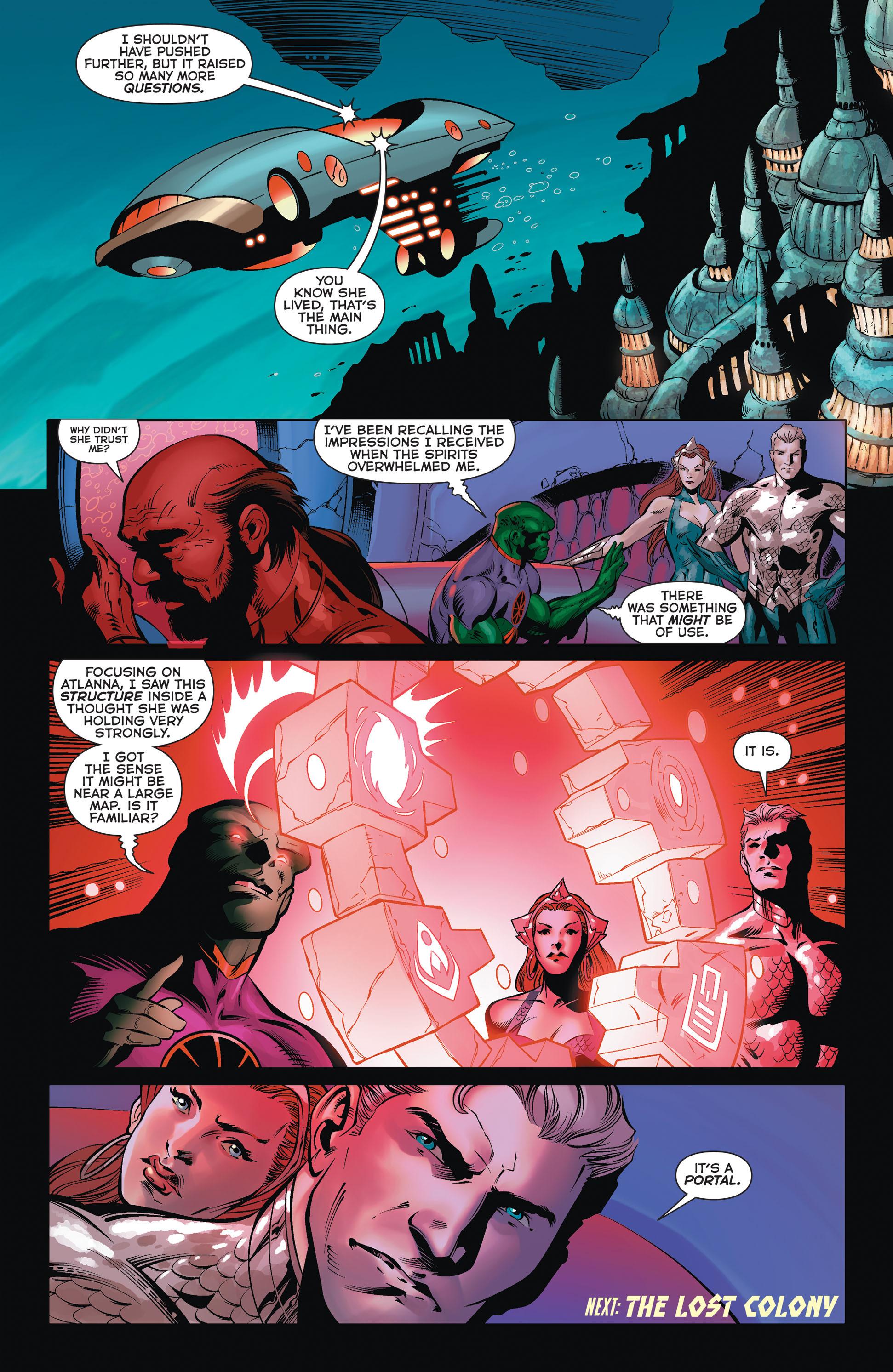 Read online Aquaman (2011) comic -  Issue #36 - 21